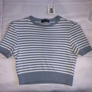 American apparel knit crop top